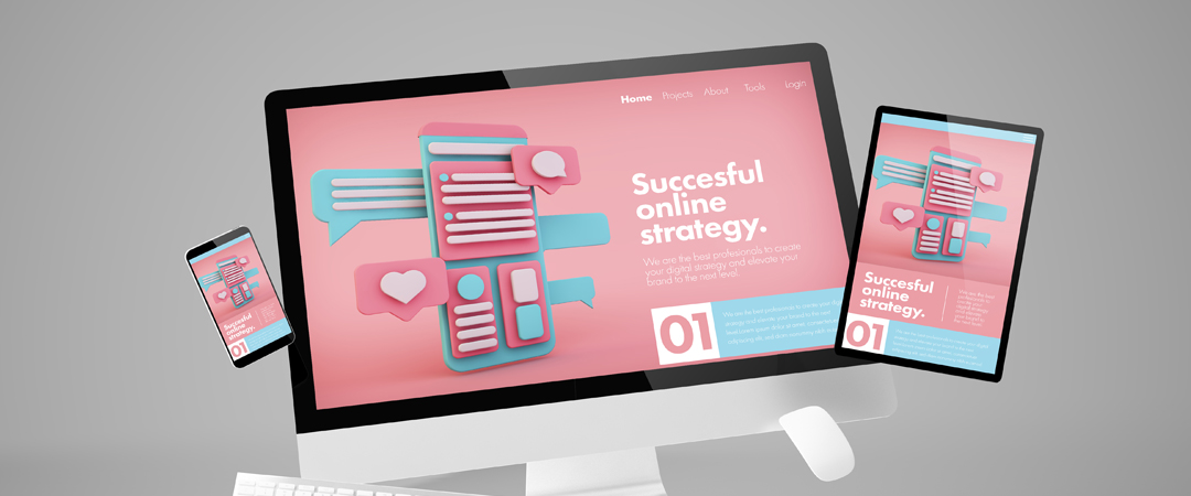 conception landing page tunisie